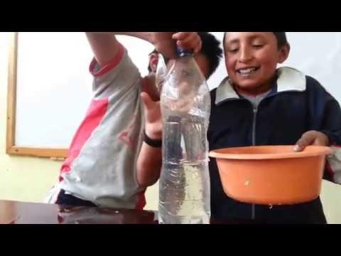 Niños científicos, experimentos caseros