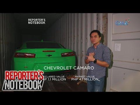 Reporter's Notebook: Smuggled luxury vehicles na nasabat ng Bureau of Customs, sinira