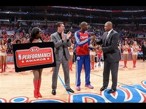 Jamal Crawford Receives the 6th Man of the Year Award