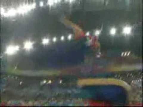 Yang Yilin - Balance Beam - 2008 Olympics All Around - YouTube