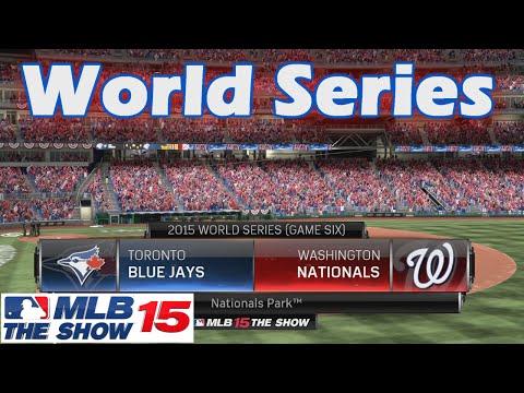 WORLD SERIES - MLB 15 The Show - Blue Jays GM ep. 19
