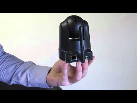 Wireless operation of the Home Security Camera - correct network-power cable procedure