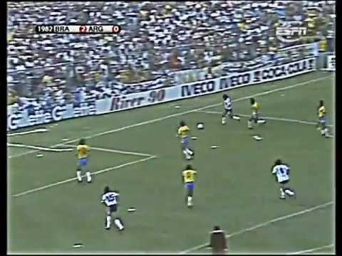 1982 Mondiali Brasile Argentina 3 1 44 Youtube