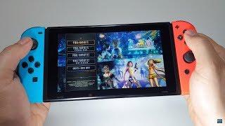 FINAL FANTASY X / X-2 HD REMASTER (gameplay game 1 FF X)  Nintendo Switch gameplay