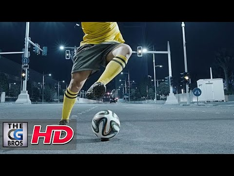 """VFX Behind The Scenes **Hyper-Real** """"AD Sports TV Idents - Directors Cut"""" - by Frame"""
