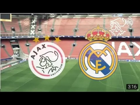 видео: Ajax vs Real Madrid Лига ЧЕМПИОНОВ