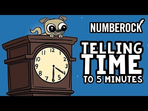 Telling Time Song For Kids | Telling Time To 5 Minutes