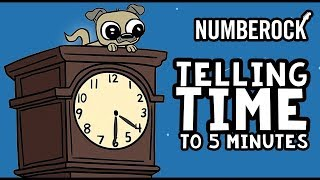 Telling Time Song for Kids Telling Time to 5 Minutes