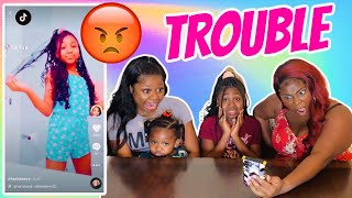 REACTING TO MY DAUGHTER KARISSA'S CRINGEY TIK TOKS (PART 2)