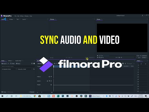 How to Sync Audio and Video Using FilmoraPro