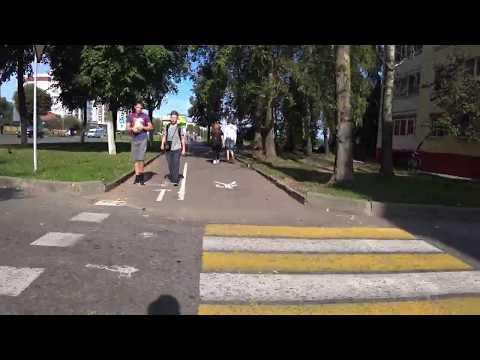 Велодорожка в Орше
