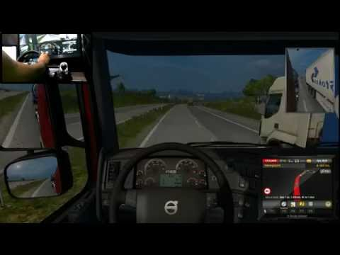 Euro Truck - Volante G27- VOLVO FH16 - Stockholm x Plymouth - LIVE STREAM !!!