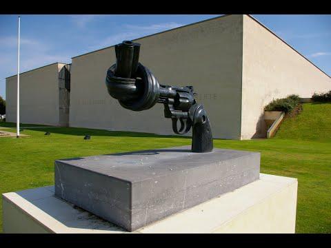 Visiting Mémorial de Caen, Memorial in Caen, France