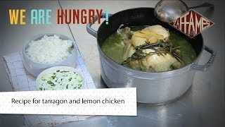 Recipe For Tarragon And Lemon Chicken, We're Hungry!