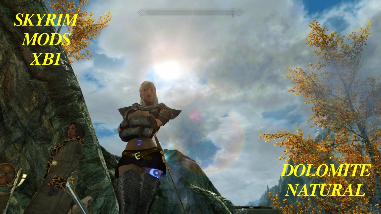 huge discount biggest discount on feet shots of Skyrim Mod XB1 Dolomite Weathers: Natural + CoT Claralux ...