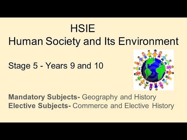 HSIE Stage 5