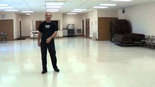 CROCODILE ROLL Line Dance Demo & Tutorial