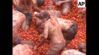 Spain - Tomato festival
