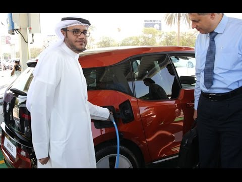 ‪‎DEWA introduces electric car charging stations in Dubai