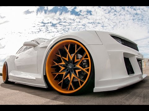 Epic Widebody Chevy Camaro Savini Wheels Sv 57 Youtube