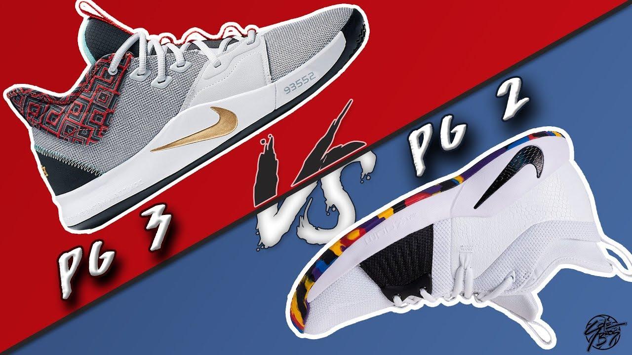 brand new 0a29e 7fccf Nike PG 3 vs PG 2!