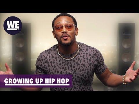 Romeo Plays Peace Keeper | Growing Up Hip Hop | WE tv