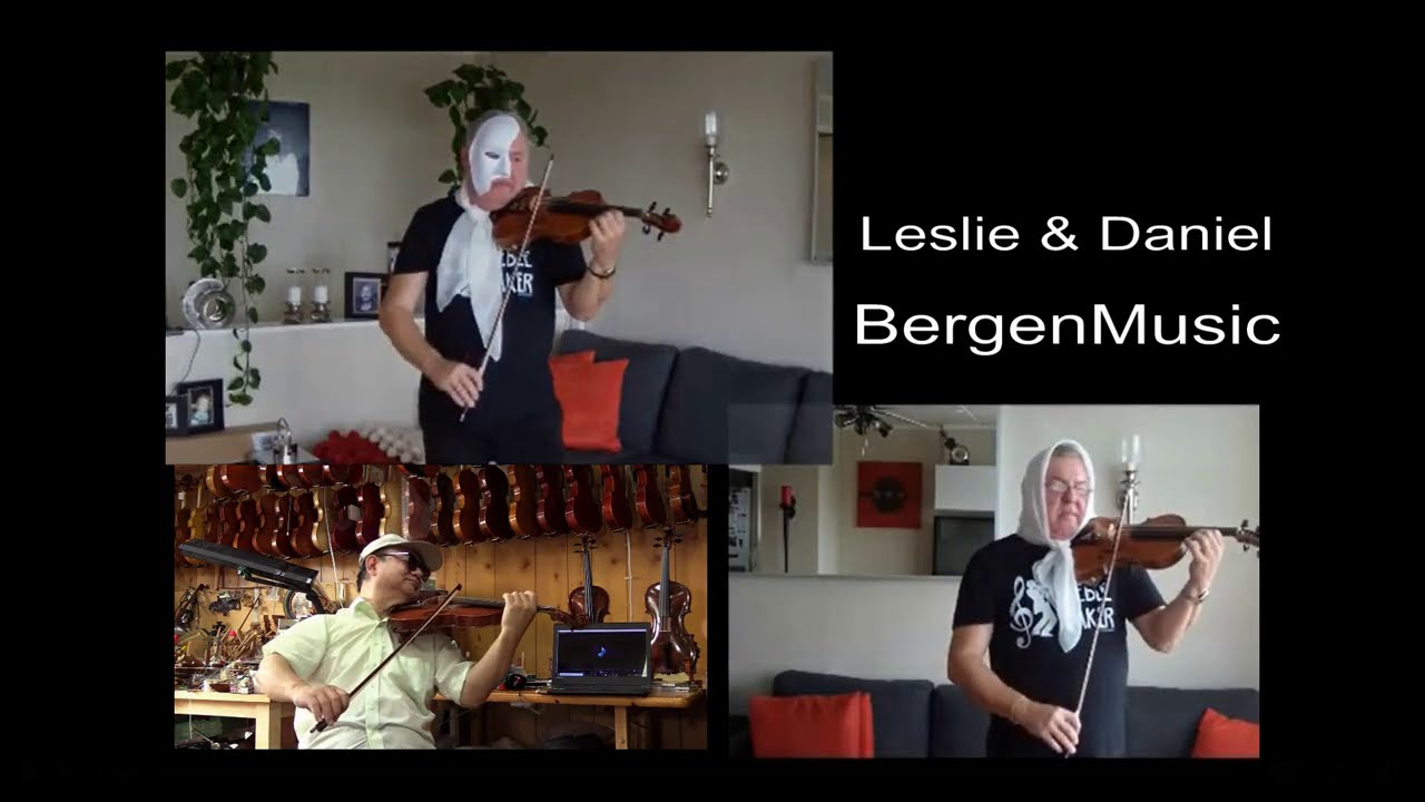 The Phantom of the Opera-Leslie & Daniel BergenMusic