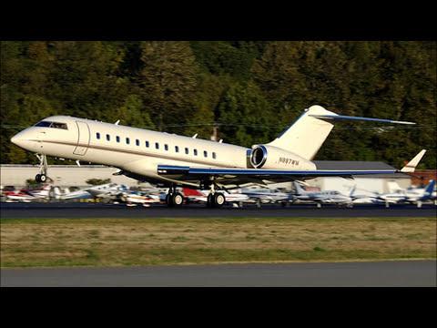 [BILL GATES]' US$ 50,000,000 Private Jet - N887WM