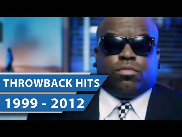 THROWBACK SONGS (NOVEMBER 1999 - 2012) - Bruno Mars, Cee-Lo Green und Pet Shop Boys