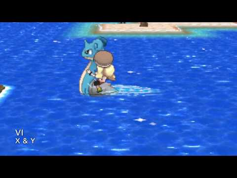 All Pokemon Game Themes - Surf & Dive