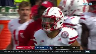 2018 Nebraska vs Michigan In 40 Minutes (Full Game)