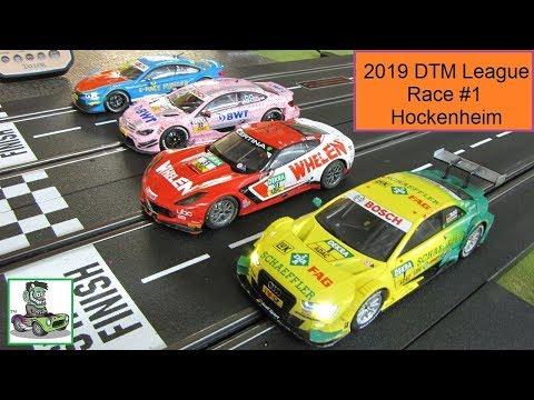 2019 DTM GT3 Slot Car League Race 1 Hockenheim Germany