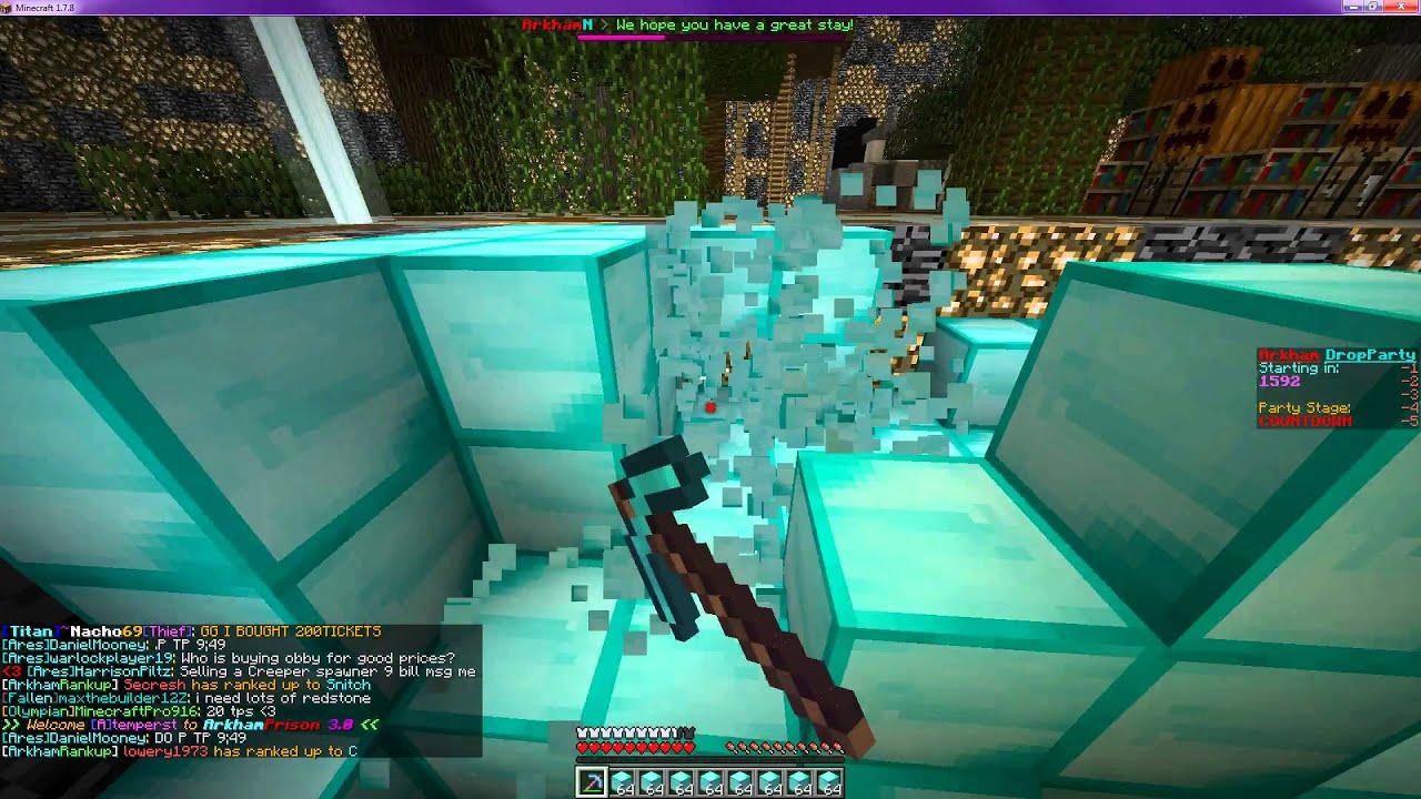 ArkhamNetwork 1.7.2-1.11.2 | Minecraft server