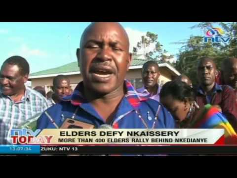 Elders defy Nkaissery as they rally behind incumbent Nkedianye