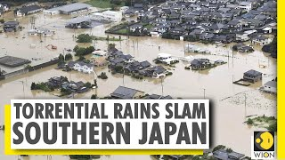 Torrential rains trigger floods & landslide in southern islands of Japan | World News
