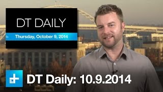 Minority Report-ish display, TV station in a box, Wearable tech voting - DT Daily (Oct 9)