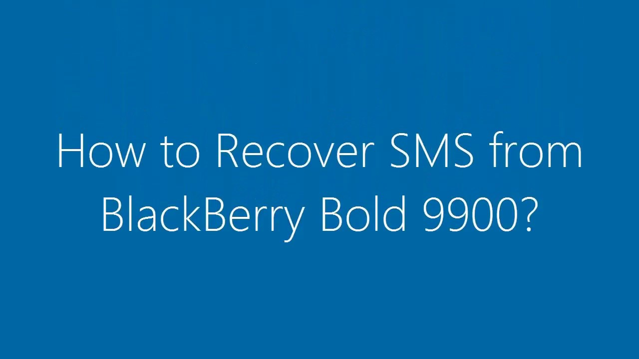 how to pull up deleted text messages on iphone how to recover deleted sms messages from blackberry bold 21385