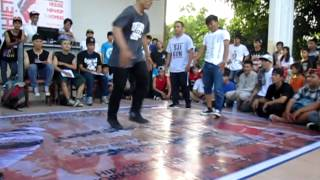 B-boy L.Rockit &B-boy Soul VS Ass Kicking Team