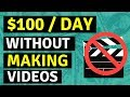 How To Make Money On YouTube Without Making Videos - Part 2