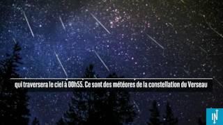 3 pluies d'étoiles filantes illumineront le ciel du 27 au 29 juillet