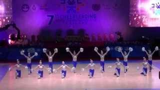 チアダンス世界大会 日本代表4位