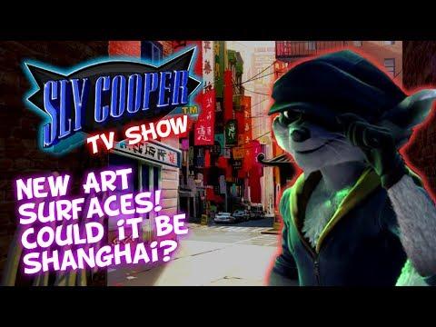 Sly Cooper TV SHOW - New Art Revealed! Backstreets Of Shanghai?