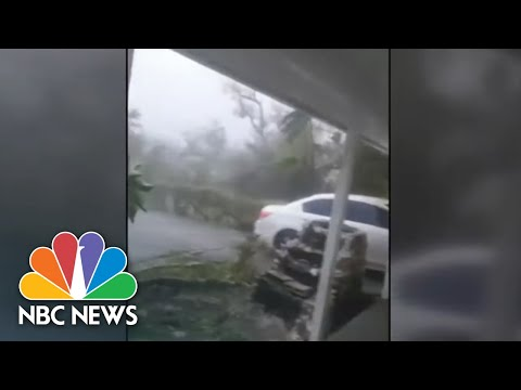 Hurricane Dorian Flooding Engulfs Bahamas International Airport | NBC News