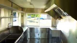 (inside Video) Food Concession Trailer Vending Food Cart Kitchen