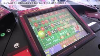 roulette machine,electronic roulette machine,coin operated roulette machine,roulette game machine