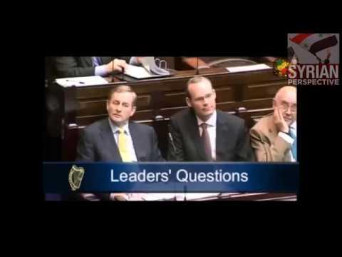 CLARE DALY IRISH PARLIAMENT SLAMS OBAMA WAR CRIMES