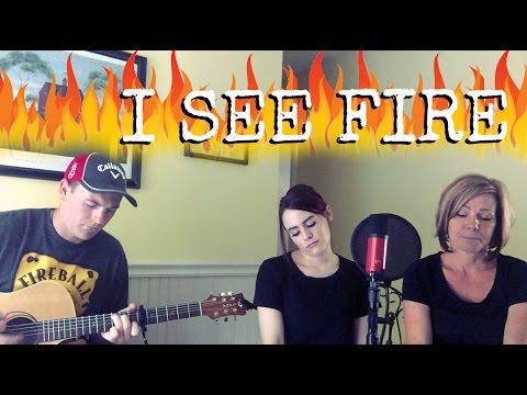 I See Fire - Ed Sheeran (Kelaska FT. Momlaska & Kyle Wright)