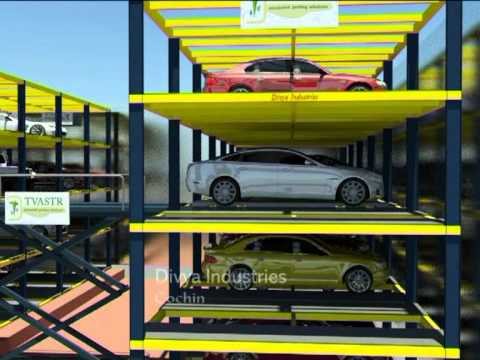 Tvastr Automated Multilevel Car Parking Solution