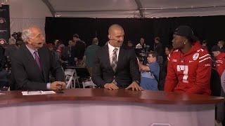 Dwayne Haskins Rose Bowl Media Day Interview | Ohio State | Big Ten Football