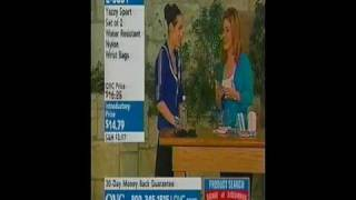 Emily Blumenthal on QVC featuring Yasmena and Yazzy Bag
